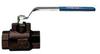 SERIES 700056 CARBON STEEL A105 BALL VALVE, FULL PORT 3/8
