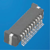 Board and Wire Connectors, 1.0 mm (0.039 in.), BTFW Series, Gender=Receptacle -- BTFW10R-3RBTAE1LF - Image