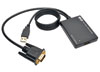 VGA to HDMI Converter/Adapter with USB Audio and Power, 1080p -- P116-003-HD-U