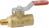 "MINI BALL VALVE 1/8"" FIP X 1/8"" MIP -- IBI252064"