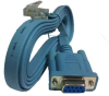 6ft Cisco Rollover DB9 to RJ45 Console Cable -- 72-3383-01 - Image