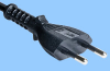 Euro Plug 2.5A Power Cord -- 86234010 -- View Larger Image