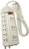 9 Outlet TV Protection Deluxe Surge Protector Power Strip w/ -- 89-046