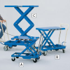 BISHAMON MobiLift Manual Scissors Lift Tables -- 7175200