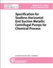 ASME B73.3 - 2003 Specification for Sealless Horizontal End Suction Metallic Centrifugal Pumps for Chemical Process (Secure PDF) -- J14503