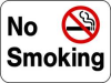 Safety Sign,No Smoking,18 x 24 In -- 3PMZ4