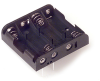 Battery Holders, Clips, Contacts -- BH4AA-PC-ND