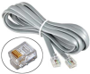 14ft RJ12 6P6C Reverse Voice to Phone Cable -- PX03-14 - Image