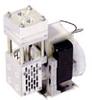 KNF Heat-Resistant Vacuum Pump, Al/PTFE; 0.21 cfm/22