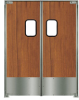 Double Acting Service Traffic Doors -- Chase SD 2000 Service Door
