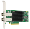 Gen 6 (32GFC) Dual-port Fibre Channel Host Bus Adapter -- LPe32002 FC Host Bus Adapter -- View Larger Image