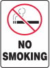 No Smoking Sign with Symbol -- SGN625 -Image
