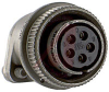 connector,straight plug,class r,size 14s,5 #16 solder socket contact,olive drab -- 70009979