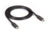 USB 3.1 Cable Type C Male to USB 3.1 Type C Male 10Gbps 1m (3.2ft) -- USB3C10G-1M -- View Larger Image