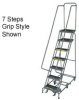 All Directional Steel Rolling Ladder -- T9H607465 - Image