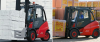Diesel Forklift with Pneumatic Tires -- H40/45/50 - Image