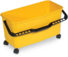 Window Washer/Microfiber Bucket w/ Casters -- 8025