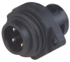 HIRSCHMANN - CA3GS - CONNECTOR, POWER ENTRY, PLUG, 16A -- 368600 - Image
