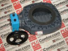 HAYWARD CPX16717GR ( BUTTERFLY VALVE LEVER OPERATED 6INCH PVC VITON 316 ) -Image