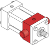 Series MH - ISO Metric Hydraulic Cylinder -- MH71