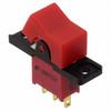 Rocker Switches -- 300AWSP1R1REDM1RE-ND - Image