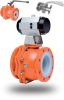 XLB Series PFA Lined Ball Valves -- XLB Series - Image