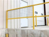 Steel Square Safety Handrails: Options -- C-CON
