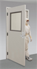 Fire-Rated Cleanroom Door