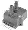SCX Series, Differential, Gage; 0 psi to 100 psi Operating Pressure, Temperature Compensated, Straight Port -- SCX100DN