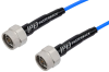 N Male to N Male Cable 200 cm Length Using PE-P141 Coax with HeatShrink, LF Solder, RoHS -- PE352-200CM -Image