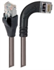 Category 6 Shielded LSZH Right Angle Patch Cable, Straight/Right Angle Right, Gray, 1.0 ft -- TRD695SZRA7GRY-1 -Image