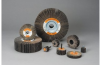 Standard Abrasives 640406 S/C Silicon Carbide SC Flap Wheel - 1 in Face Width - 4 in Diameter - 5/8 in Center Hole - 42726 -- 051115-42726 - Image