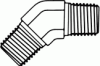 Pipe Elbow 45° -- FG5501-04-04-Image