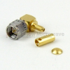 M39012/56-3107 RA SMA Male Connector Crimp/Solder Attachment For RG55, RG142, RG223, RG400 Cable -- M39012/56-3107 - Image