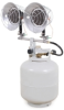 Propane Radiant Heaters -- View Larger Image