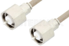 LC Male to LC Male Cable 120 Inch Length Using RG225 Coax , LF Solder -- PE34538LF-120 -Image