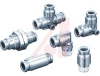 FITTING, STAINLESS STEEL, BULKHEAD UNION, FOR 1/2 IN TUBE -- 70072082