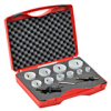 Hole Saw Kit: bi-metal HSS-Co8, 7/8 to 2-1/2 inch diameter, 12 pc -- 126304 - Image