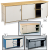 BUILT-RITE Cabinet-Style Workbenches -- 5490228