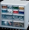 12-Drawer Storage Cabinet -- Model # DS-12, DSR-12, DSLB-12, DSMG-12, DSBZ-12