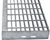 Grating Stair Treads -- Steel