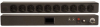 Basic, Surge 20 Amp 10 Outlet NEMA 5-20R PDU with 5-20P -- 9BG2-101001 -Image