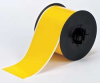 Tape,Yellow,Acrylic Vinyl,3Inx100 ft. -- 6UMR6