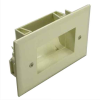 Easy Mount Recessed Low Voltage Cable Plate -- 1018-SF-54