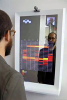 Semi-Transparent Mirrors for Visually Dynamic Displays