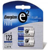 Energizer EL-123/2 CR123 Advanced Photo Lithium Battery Reta -- EL123APB2