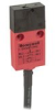 MICRO SWITCH GKM Series Miniature Key Operated Safety Switch, 1NC/1NO Direct Opening, Slow Action, 3 m Bottom Exit Cable, Plastic Housing, Silver-Nickel Contacts -- GKMB33 -Image