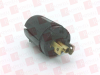HUBBELL HBL7594V ( CONNECTOR, POWER ENTRY, PLUG, 15AMP, CONNECTOR TYPE:POWER ENTRY, BLACK )