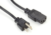North American PC/Monitor Power Cord, NEMA 5-15P to IEC-60320-C13, 6.5-ft. (2-m) -- EPXR08
