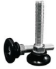Stud Mount Leveling Feet - Plastic Rigid Base -- AFW2020A -- View Larger Image